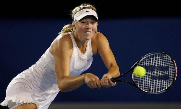 Maria Sharapova ei ole hävinnyt tämän vuoden Australian avoimissa vielä erääkään.