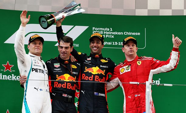 Kolmossija Bottaksen ja Ricciardon takana oli lopulta hyvä tulos Räikköselle.