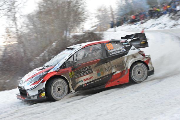 Kalle Rovanperä sai ajaa lumella Monte Carlossa. Ruotsissa moisesta saa vain haaveilla.