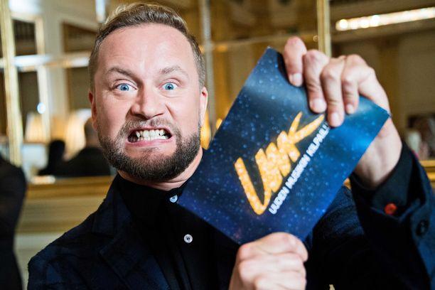 Mikko Silvennoinen valmistautuu vappuna Euroviisuihin.