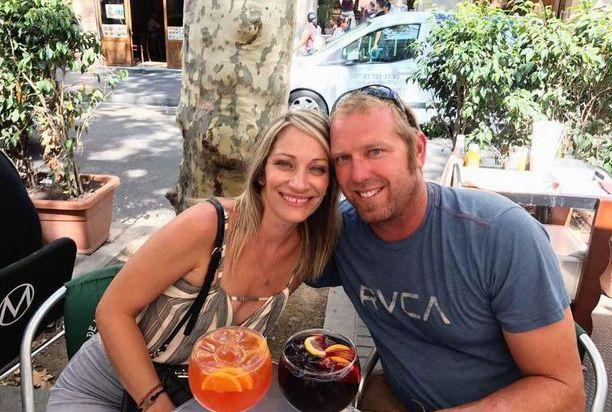 Heidi Nunes ja Jared Tucker olivat Barcelonassa juhlimassa hääpäiväänsä. Heidän oli määrä palata iskuan jälkeisenä päivänä kotiin.