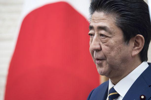 Shinzo Abe on ollut Japanin pääministeri vuodesta 2012.