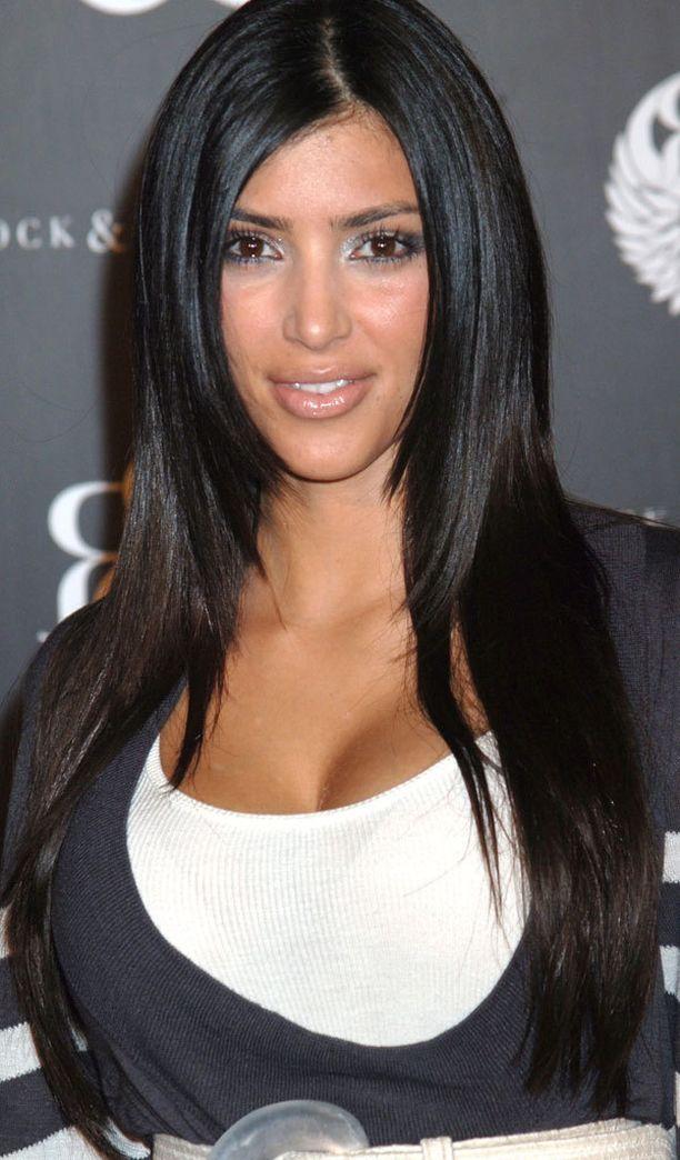 Kim Kardashian vuonna 2006...