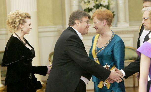 ENSI KERTA Timo ja Tiina Soini juhlivat Linnassa myös vuonna 2005.
