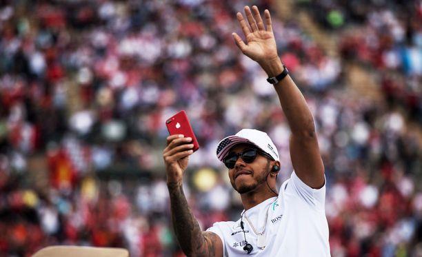 Lewis Hamiltonin maailmanmestaruus varmistui Meksikossa.