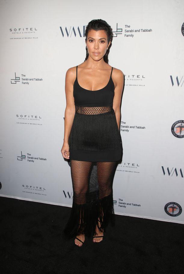 Kourtney Kardashian vuonna 2018.