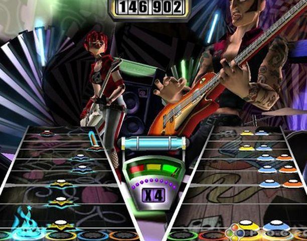 Guitar Heron idea perustuu sorminäppäryyteen.