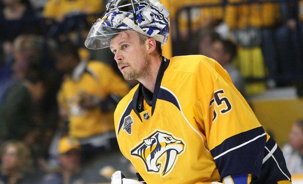 Pekka Rinne oli todellinen löytö Nashvillelle.