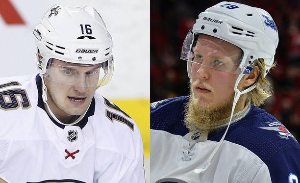 Aleksander Barkov ja Patrik Laine nähdään ensi marraskuussa Helsingissä pelattavissa NHL-otteluissa.