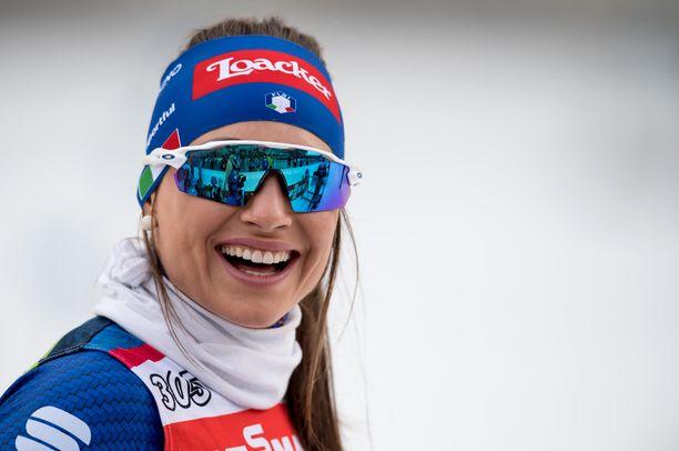 Dorothea Wiererillä on monesti hymy huulilla.