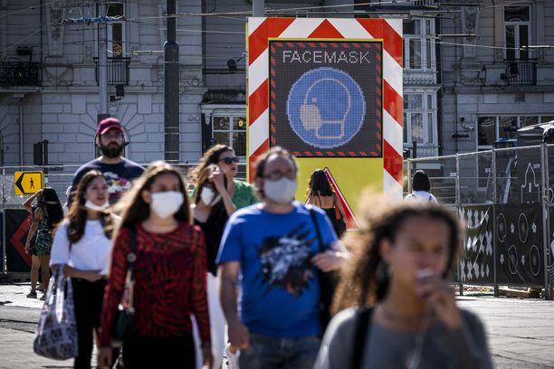 Toinen vahvistetuista tapauksista on Alankomaissa. Kuva Amsterdamista 21. elokuuta.