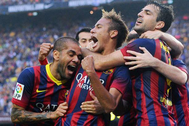 Neymar nousi Barcelonan sankariksi.