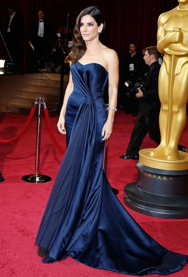 Vuoden 2014 Oscar-tyyli oli yksi illan kauneimmista. Päälle pääsi Alexander McQueenia.