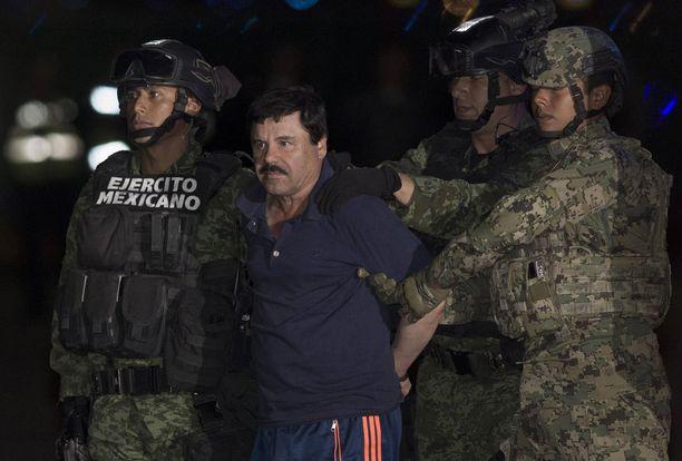 El Chapo vangittiin vajaa vuosi sitten 8. tammikuuta.