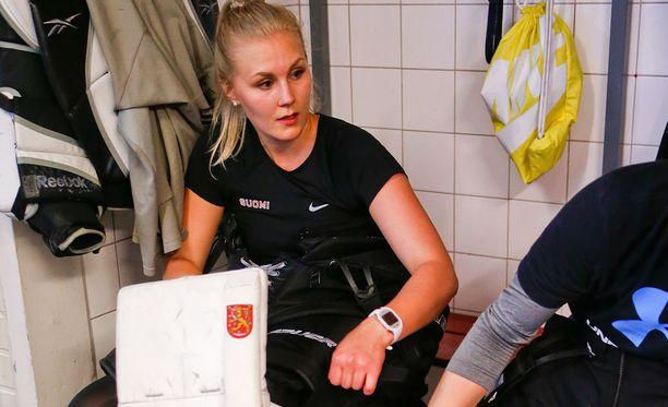 Meeri Räisänen liittyi kesällä Suomi-sarjassa pelaavaan D-Kiekkoon.