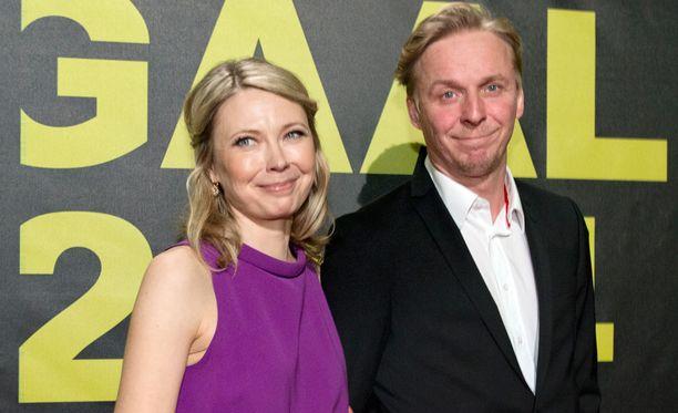 Teresa ja Eero Jussi-palkintogaalassa kaksi vuotta sitten.
