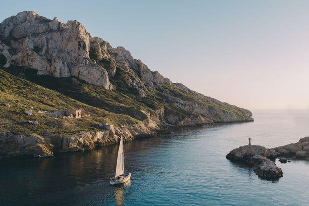 Marseillen merellisistä maisemista tarkenee nauttia vielä lokakuussakin.