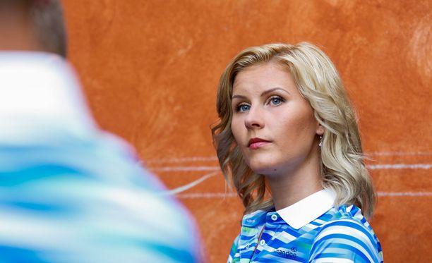 Kristiina Mäkelä ylitti 14 metriä kolmiloikan karsinnassa.