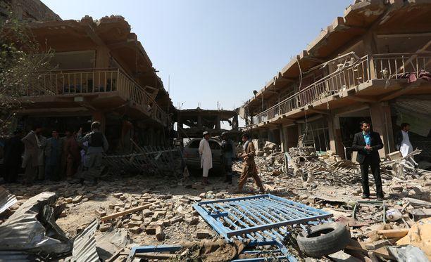 Väkivallan kierre Kabulissa on roihahtanut toden teolla sen jälkeen, kun Yhdysvaltojen johtamat Nato-joukot jättivät maan joulukuussa.