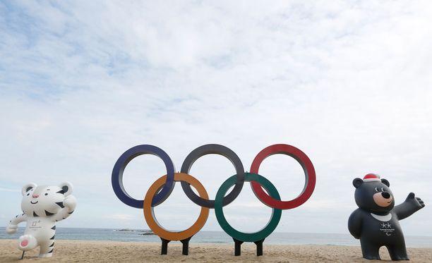 Etelä-Korean olympiakisat järjestetään 9.-25. helmikuuta.