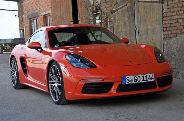 Suorituskykyisten autojen ykkönen: Porsche Cayman/Boxster.