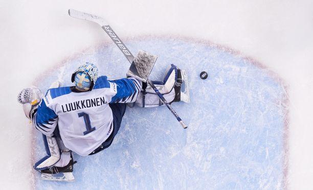 Ukko-Pekka Luukkosella on kaksi MM-mitalia: Alle 18-vuotiaiden kulta vuodelta 2016 ja hopea vuodelta 2017.