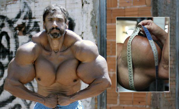 Valdir Segato haluaa vieläkin enemmän lihaksia.