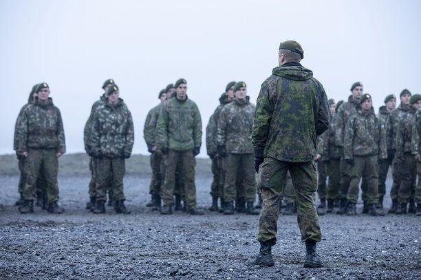 Puolustusvoimien pääsotaharjoitus Kaakko 19 on parhaillaan käynnissä. Kuvituskuva.