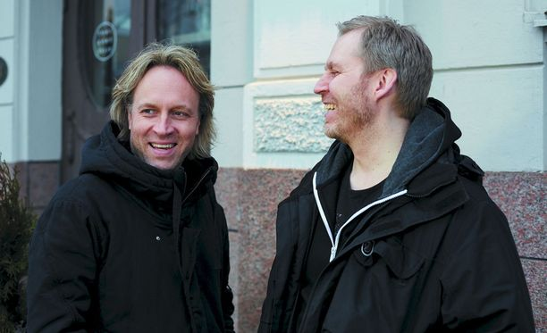 Kari Aihinen ja Paul Hickman ovat Helsingin paraatipaikalle avautuvan ravintolan puikoissa.