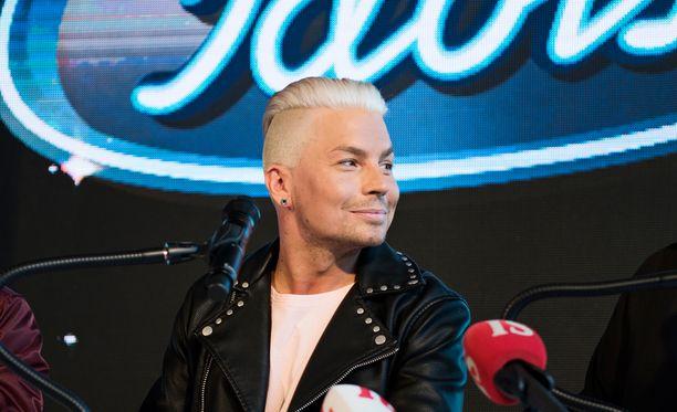 Antti Tuisku on yksi uusista Idols-tuomareista.