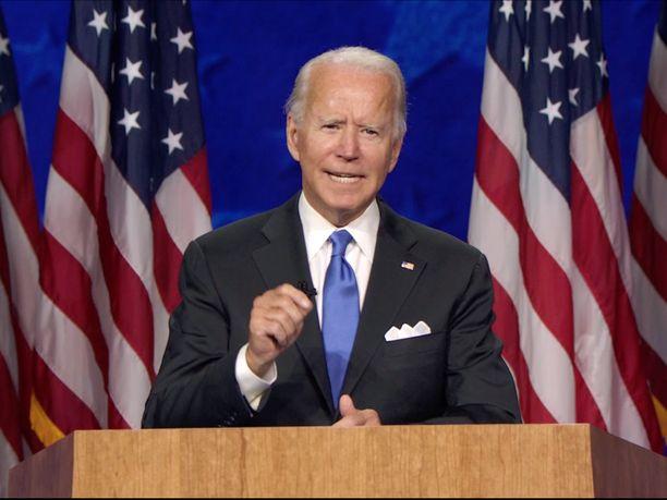 Demokraattien puoluekokous huipentui Joe Bidenin linjapuheeseen.