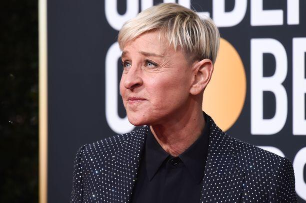 Ellen DeGeneres on yksi maailman tunnetuimmista televisiojuontajista.