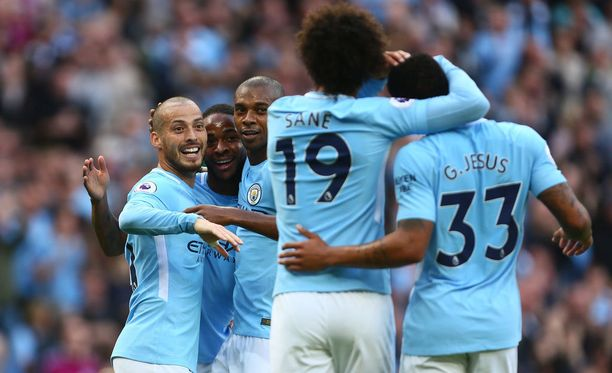 Manchester City nousi maalijuhlan jälkeen takaisin Valioliigan kärkeen.