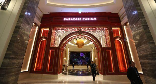 Paikalliset eivät saa pelata tässä Paradise Cityn kasinossa.