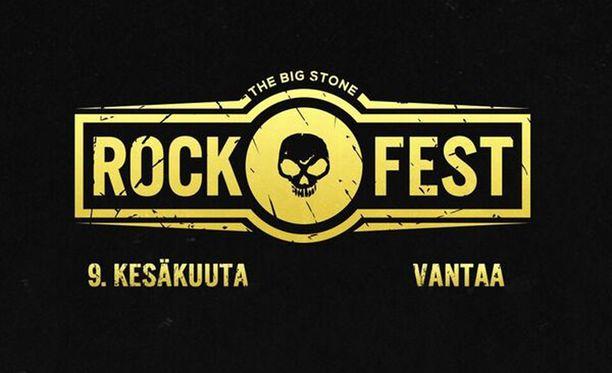 Rockfest järjestetään Vantaalla kesäkuun 9.-10. päivä.