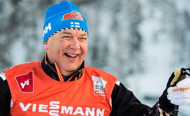 Reijo Jylhälle jäi hyvä maku Drammenin sprintistä.