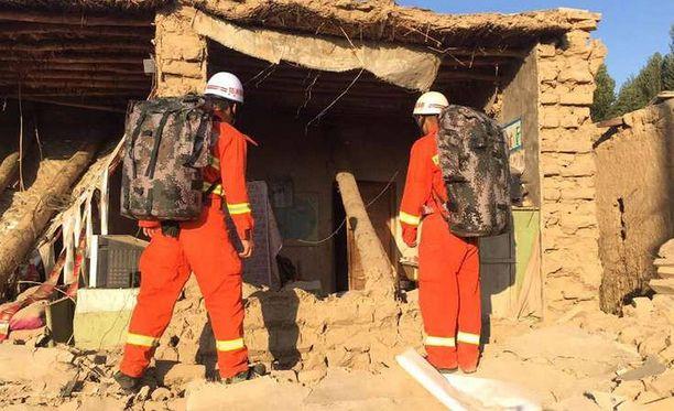 Tiistaina Kiinassa 19 kuoli ja 250 loukkaantui maanjäristyksessä.
