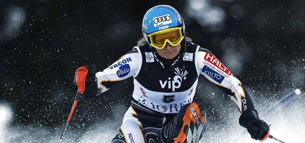 Tanja Poutiainen on pääsemässä takaisin kisarytmiin.