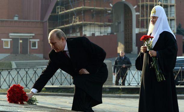 Rakkaus, se on Putinin mukaan tärkeintä.