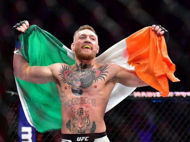 Conor McGregorin paluuottelu kesti ainoastaan 40 sekuntia.