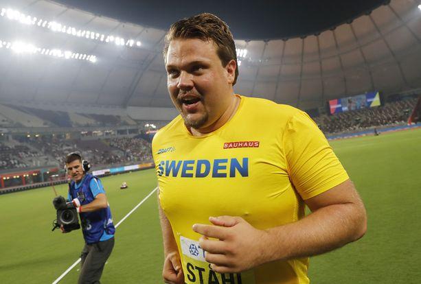 Daniel Ståhl heitti maailman tilaston kärkeen.