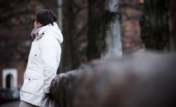 45-vuotias Katja vammautui pysyvästi koulukodissa sattuneessa välikohtauksessa.