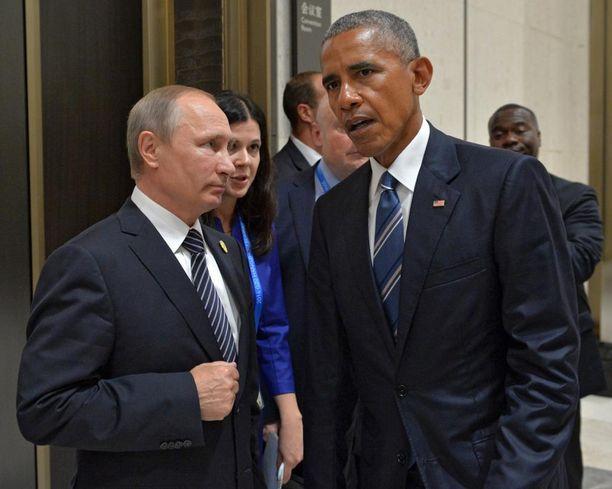 Putinin ja Obaman välit ovat lähes jäätävät. Trumpin ja Putinin väleistä odotetaan parempia.