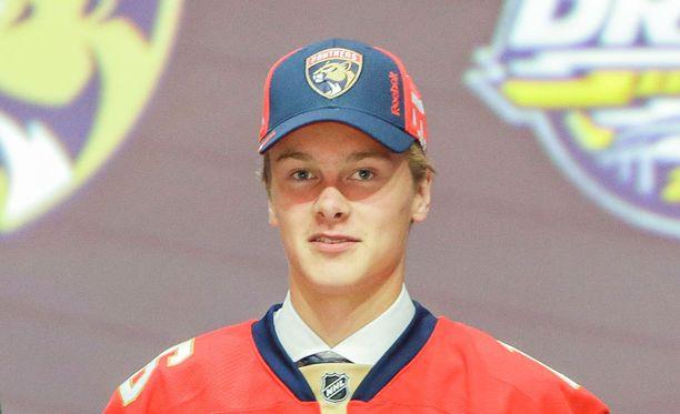 Henrik Borgström saanee pikapuoliin hieman pysyvämmän järjestelyn Panthers-kopissa.