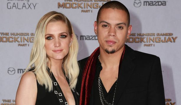 Ashlee Simpson ja Evan Ross