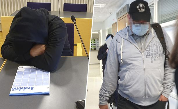 Hyväksikäyttöringistä syytetyt miehet tulivat Länsi-Uudenmaan käräjäoikeuteen viime viikolla.