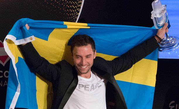 Måns Zelmerlöw vei euroviisuvoiton Ruotsiin viime keväänä.