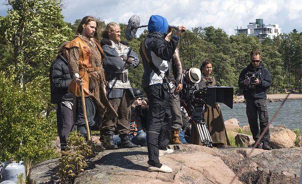 Ensi vuonna ilmestyvää Bändi nimeltä Impaled Rektum -elokuvaa kuvattiin elokuun alussa Helsingin Lauttasaaressa.