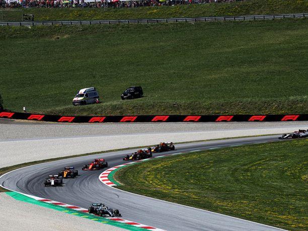 F1-kausi starttaa näillä näkymin Spielbergin radalla 5.7.