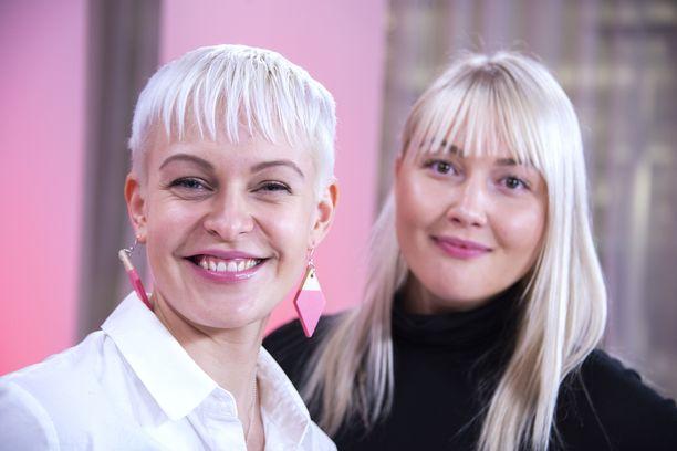 Jenni Janakka ja Kaisa Merelä.